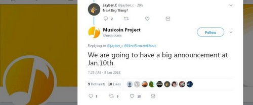 Musicoin-Big-announcement-CoinCalendar