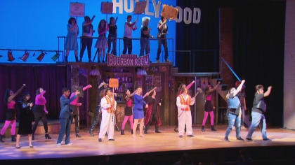 north hs rock of ages 6pkg frame 717 Schools Need Musicals: Rival Schools Team Up On Stage