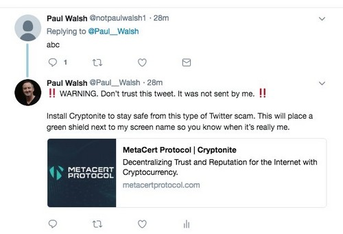 Since Twitter Won't Stop Crypto Scammers, These Services Will